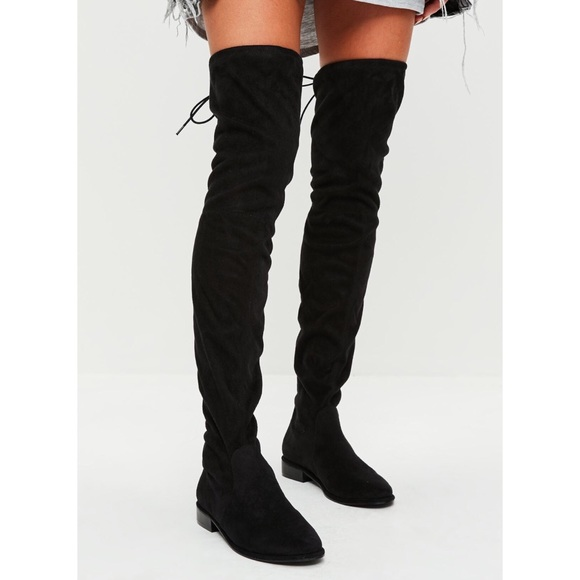 d07228fd992a Missguided Shoes | Over The Knee Boots | Poshmark